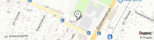 Строитель-Юг на карте Яблоновского