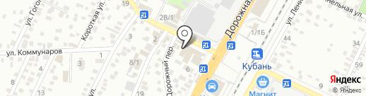 Билайн на карте Яблоновского