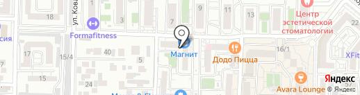 Marafet на карте Краснодара