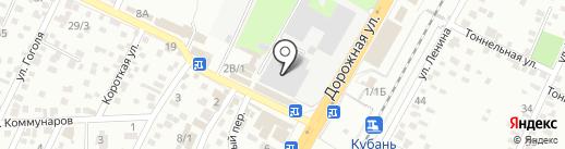Контракт-Авто на карте Яблоновского