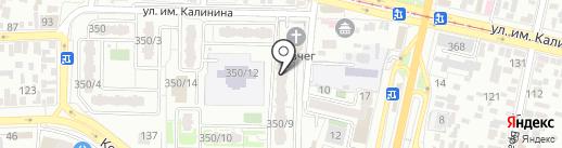 StrongSound на карте Краснодара