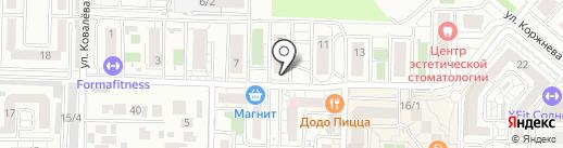 FRANKLIN TATOO FMR на карте Краснодара