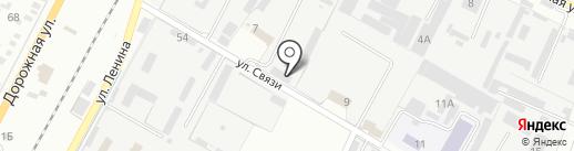 Парус на карте Яблоновского