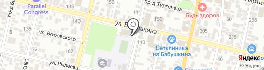 СинтезОйлОпт на карте Краснодара