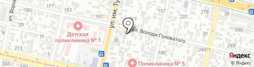 Автосервис на карте Краснодара