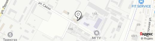 GarillaGarage на карте Яблоновского