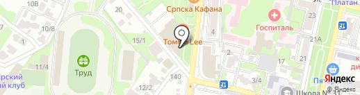 VURBANE на карте Краснодара