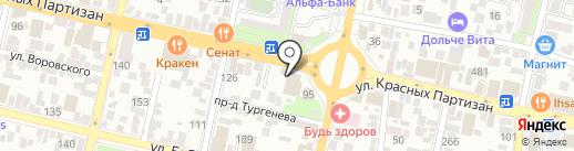 Пора Поесть на карте Краснодара