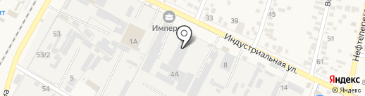 Антенна-Кубань на карте Яблоновского