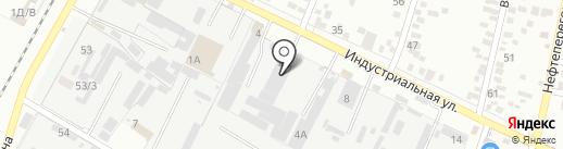 Завод Империя на карте Яблоновского