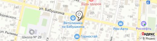 Возрождение юга на карте Краснодара