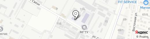 Ивна на карте Яблоновского