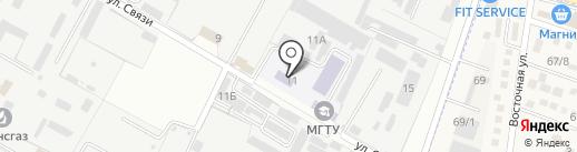 NOVA-Пласт на карте Яблоновского