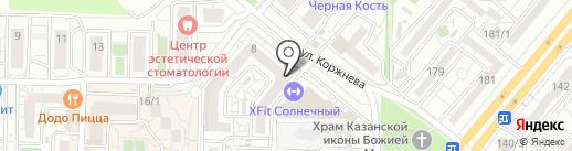 DanceProfi на карте Краснодара