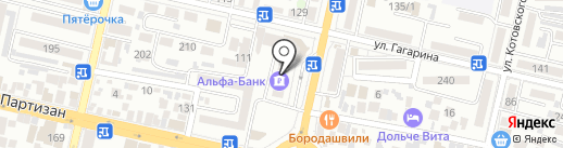 Оптом-розы.рф на карте Краснодара