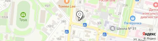 Eclair Me на карте Краснодара