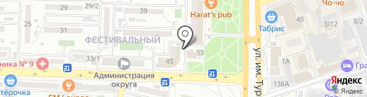 Фотовидеостудия на карте Краснодара