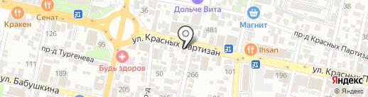 Адвокатский кабинет Рогальского С.С. на карте Краснодара