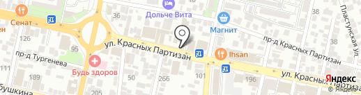 САНТЕХНИКА В КРАСНОДАРЕ на карте Краснодара