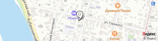 Пиво да раки на карте Краснодара