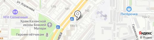 Швейная мастерская на карте Краснодара