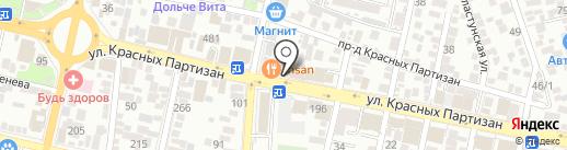 Miele на карте Краснодара