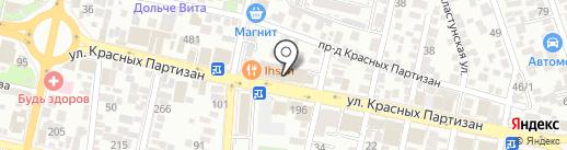 Декор Студио на карте Краснодара