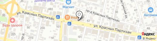 Олимп Паркета на карте Краснодара