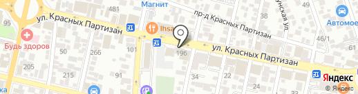 Scavolini на карте Краснодара