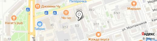EASY FIT на карте Краснодара