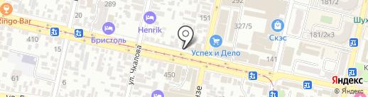 Адвокатский кабинет на карте Краснодара