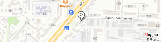 Фотоателье на карте Краснодара