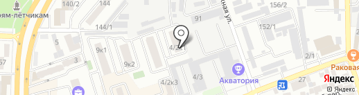 Визитки-КРД на карте Краснодара