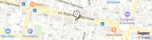 БАРРЕЛЬ НЕФТЬ ГРУПП на карте Краснодара