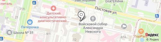 Эпицентр-Юг на карте Краснодара