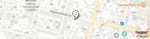 Краевая справочная по недвижимости на карте Краснодара