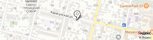 Справочная 0-81 на карте Краснодара