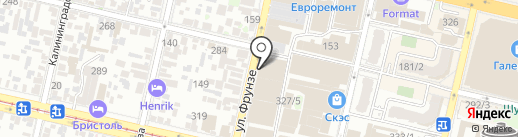 Магазин керамической плитки на карте Краснодара