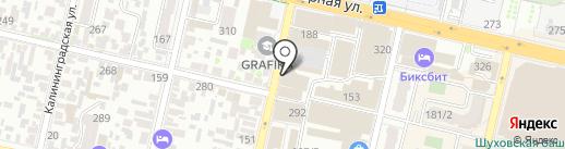 LuMaks на карте Краснодара
