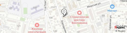 Заргарон на карте Краснодара