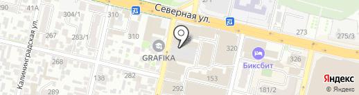 ДЕРУФА-ДЕКОР на карте Краснодара