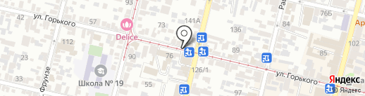 Лизинбург на карте Краснодара