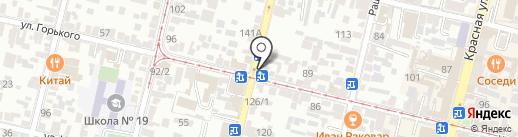 Аптеки Кубани на карте Краснодара