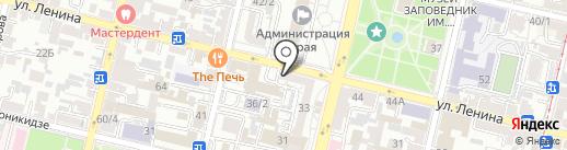 BULKI на карте Краснодара