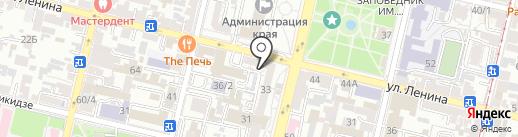 Lounge Zone на карте Краснодара