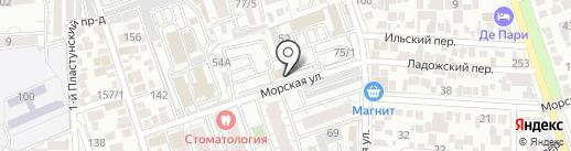 ProfiLine на карте Краснодара