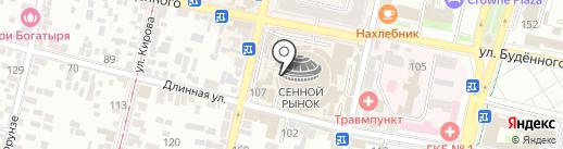 Магазин спецодежды на карте Краснодара