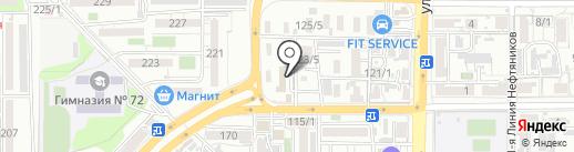 Мастер вмятин на карте Краснодара