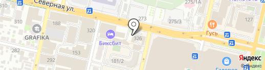 Фирма по переводу документов на карте Краснодара