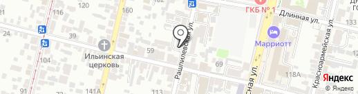 Daniil Bogatoff на карте Краснодара